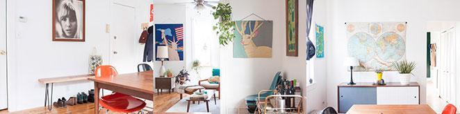 apartamento vintage decoracao vintage sala