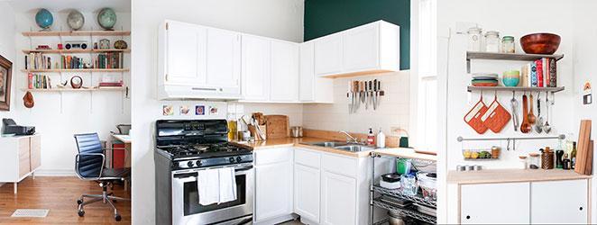 apartamento vintage com home office retro e decoracao vintage cozinha