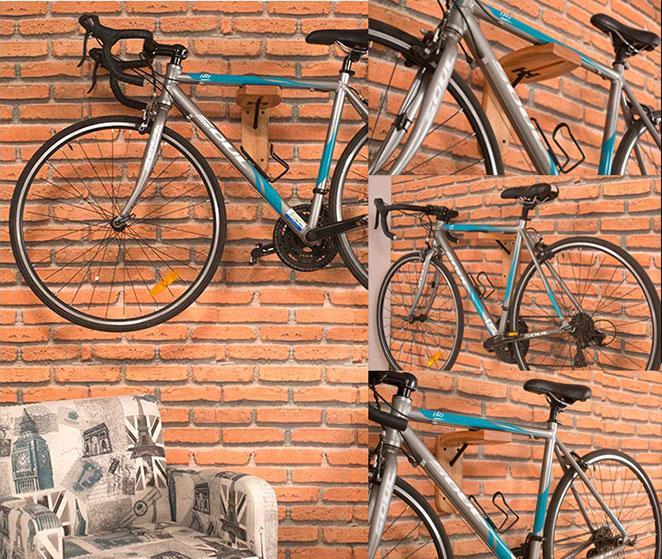 suporte para bicicleta na decoracao