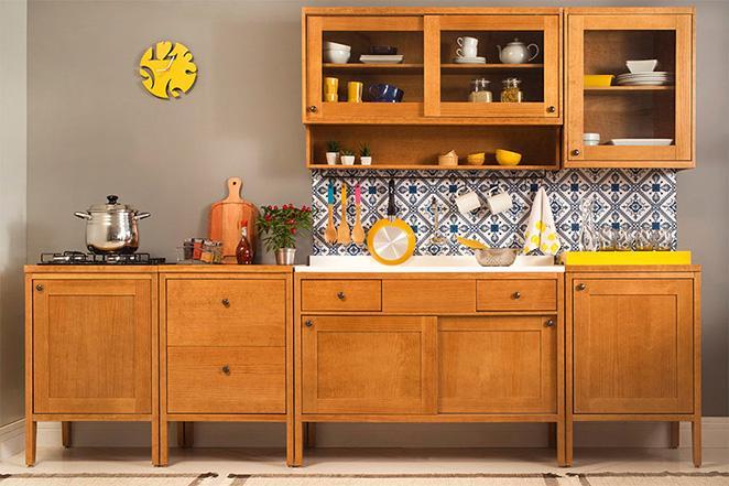 como cuidar de moveis de madeira para cozinha