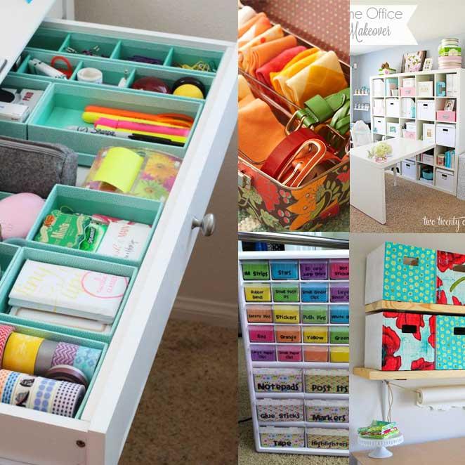 como guardar objetos pequenos em caixas