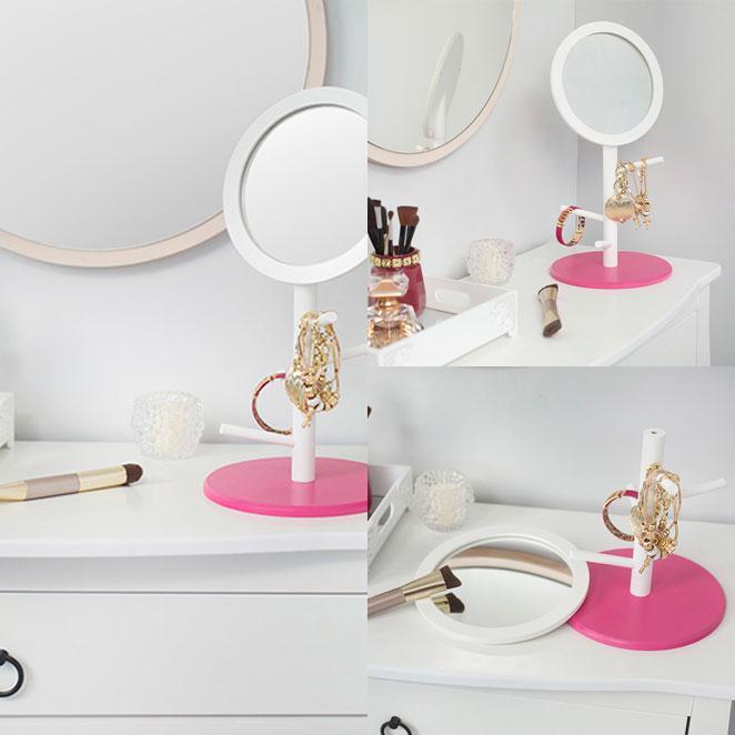 Como montar um cantinho de maquiagem e escolher os espelhos certos para ele