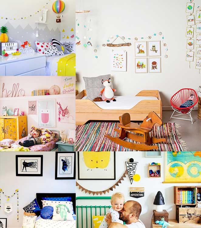 decoracao para quarto infantil ludico