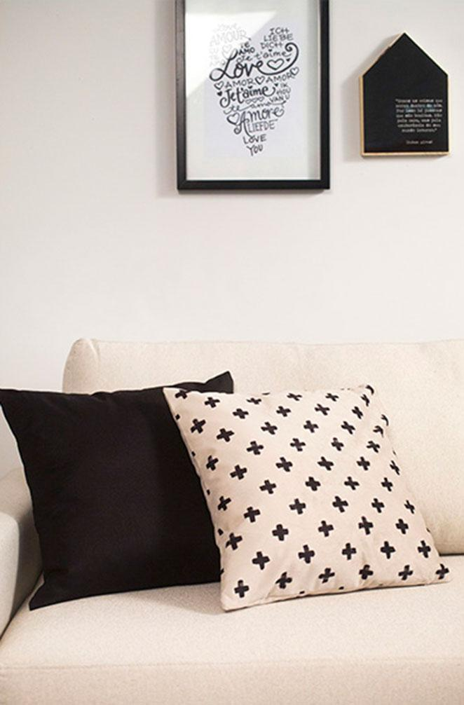 decoracao para sala de estar pequena com estilo minimalista
