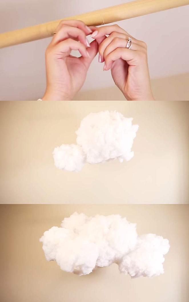 luminaria de nuvem como fazer