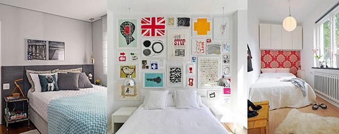 aprenda a escolher as cores certas para o seu quarto pequeno