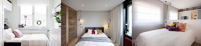 escolha a cortina certa para o seu quarto pequeno