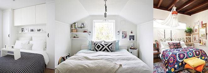 dicas imperdiveis para organizar um quarto pequeno