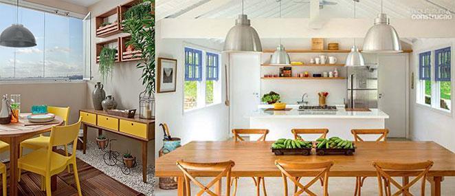 sala com varanda gourmet com moveis para area externa praticos e funcionais