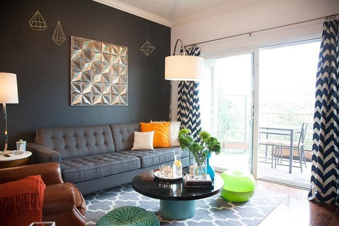 Apartamento pequeno e bem decorado Minha casa, Minha cara # Decoração De Pequenos Apartamentos Fotos