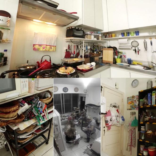 como organizar cozinha pequena