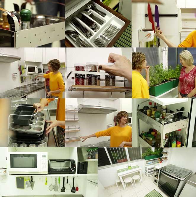 como organizar cozinha pequena com criatividade