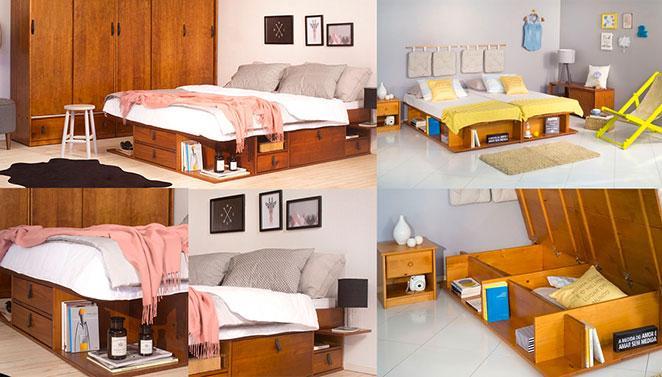 moveis para espacos pequenos camas funcionais