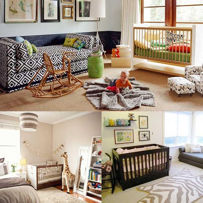 como escolher o tapete certo para um quarto compartilhado com o bebe