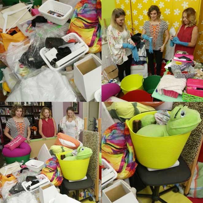 como fazer triagem para organizar um quarto multifuncional