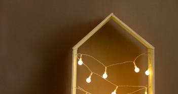 luminária de casinha