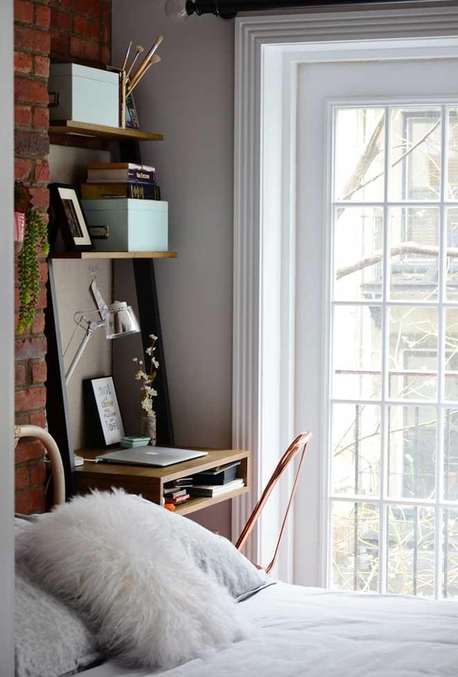quarto de apartamento pequeno decorado
