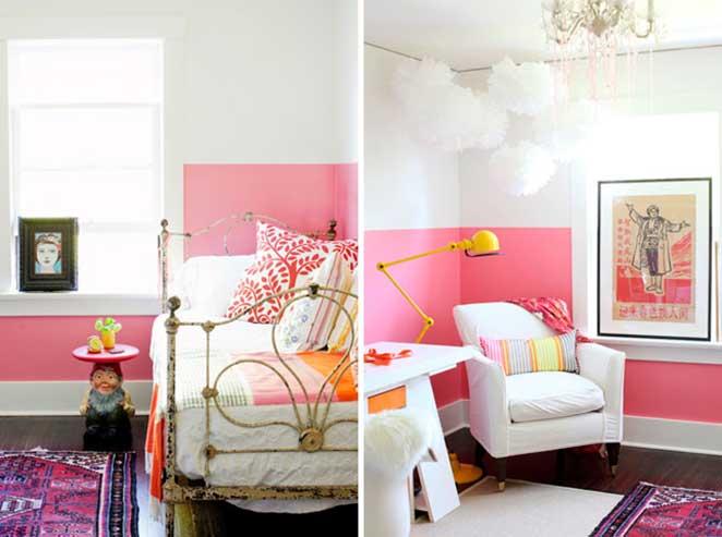 Casas-coloridas-quarto-parede-rosa