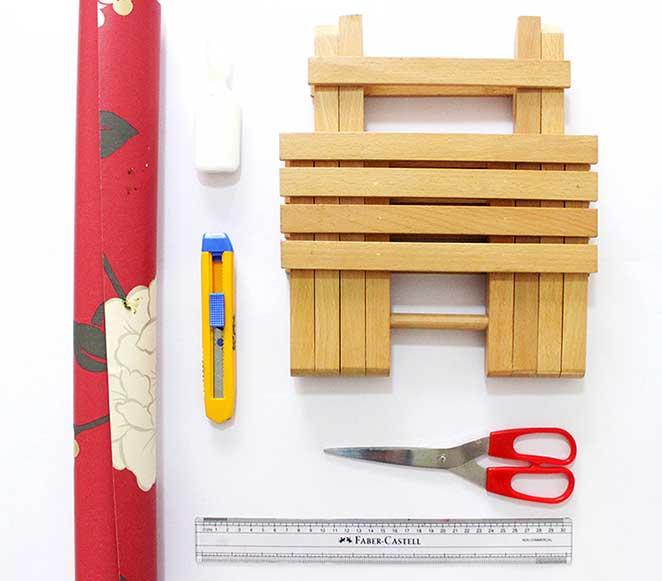 materiais sobre como reformar um movel de madeira