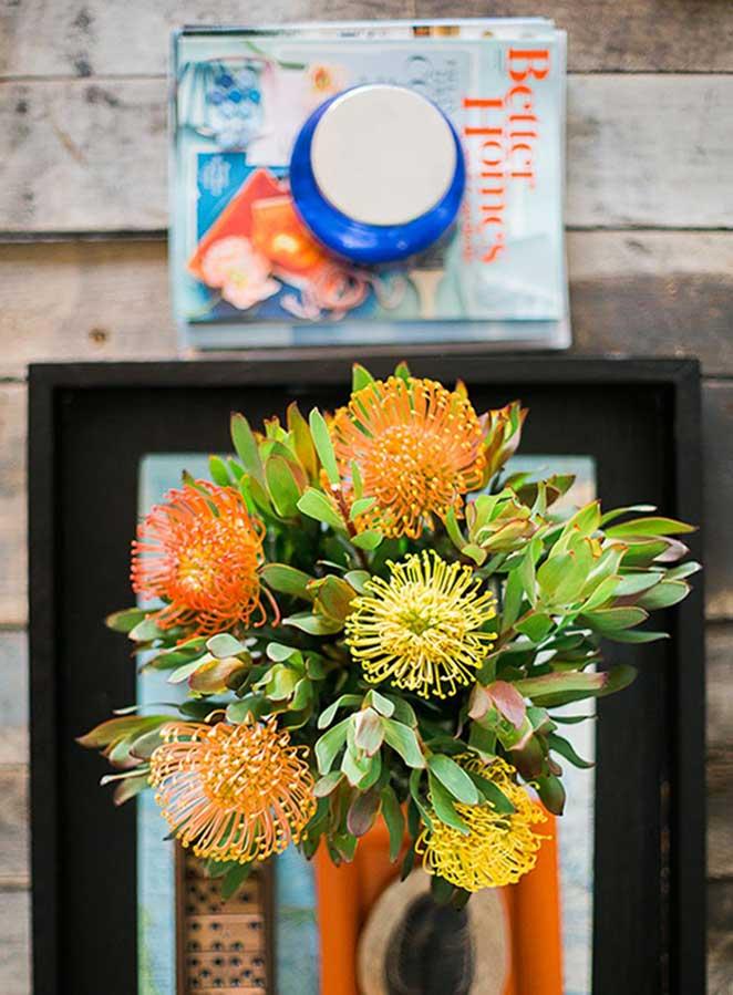 decoracao com plantas para mesa de centro
