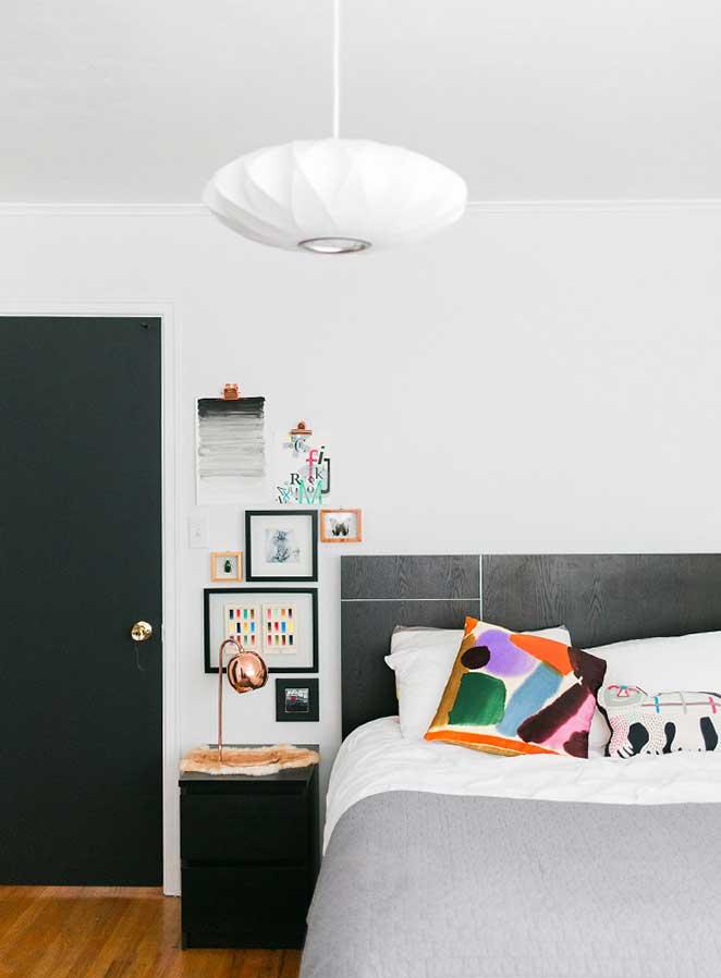 decoracao com plantas para quarto