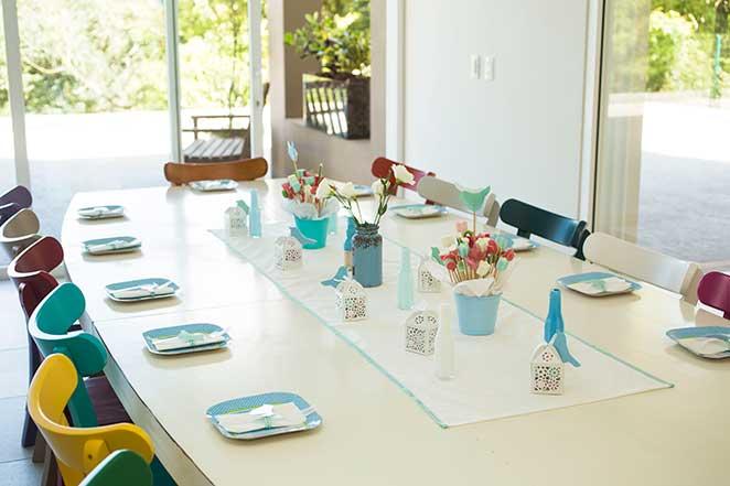 decoracao de festa mesa principal