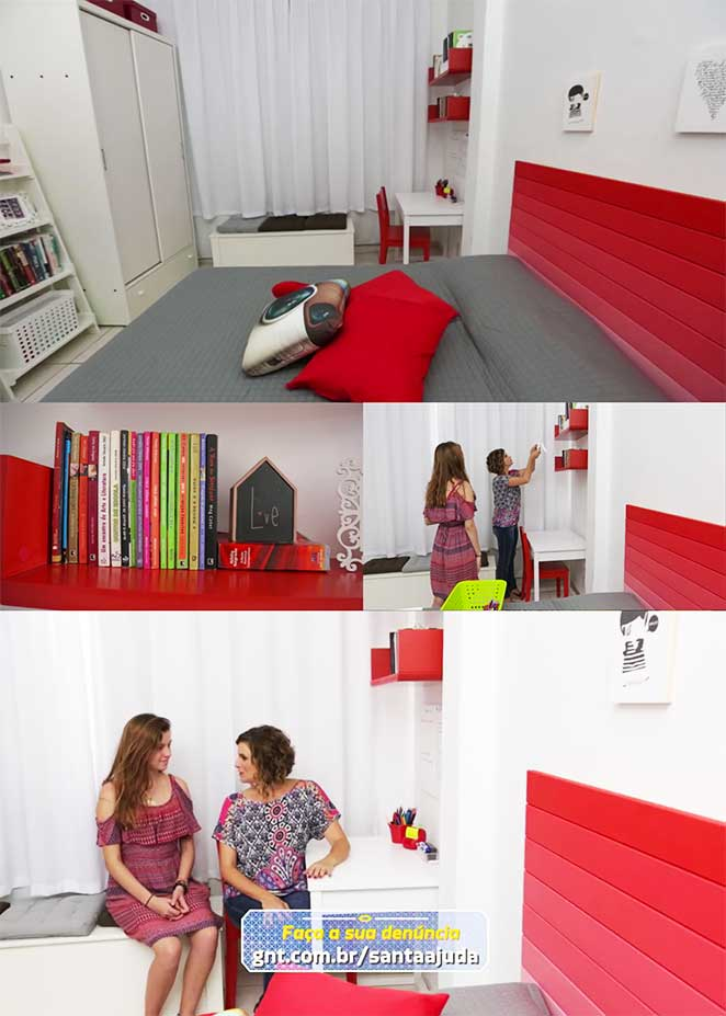 Guarda Roupa Wink ~ Decoraç u00e3o para quarto feminino