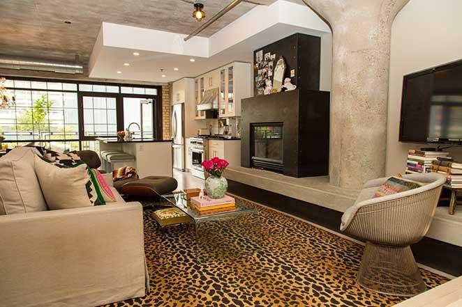 Loft-decorado-com-sala-integrada