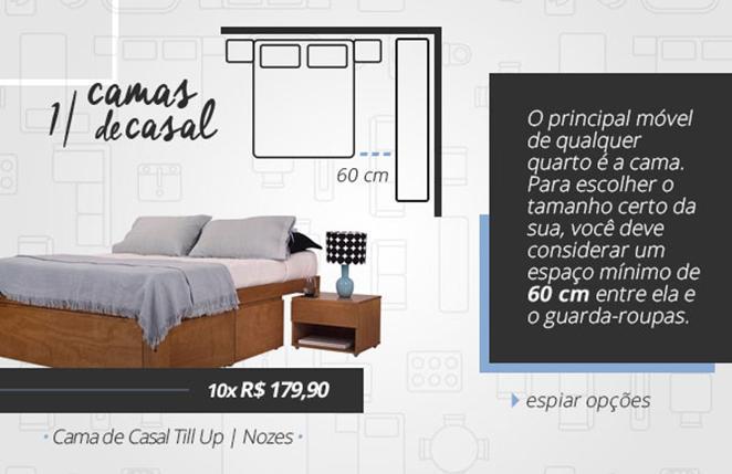 como escolher a cama certa para quarto de casal