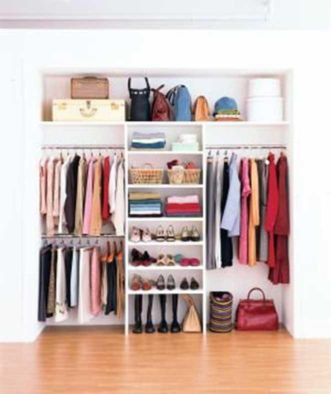 dicas para organizar o guarda-roupas