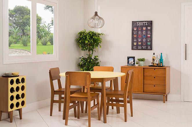 Sala De Jantar Pequena Com Janela ~ Linha Charme cresceu e agora temos uma sala de jantar pequena
