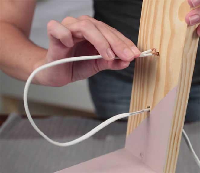 Como fazer uma lumin ria de mesa for Como criar caracoles de jardin