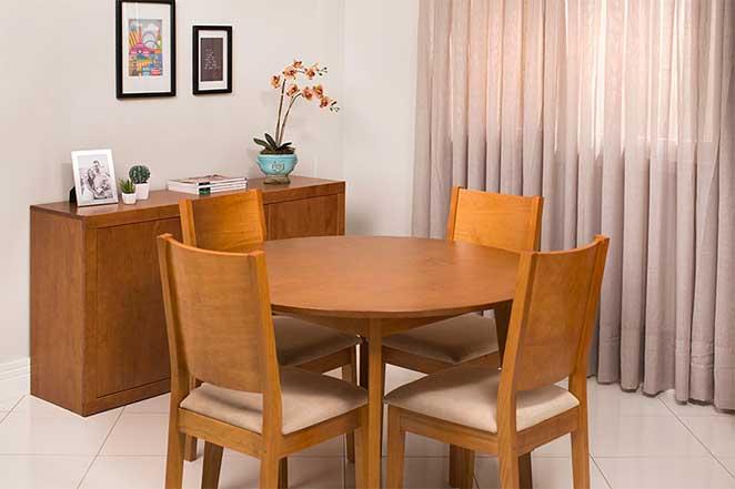 sala de jantar rustica