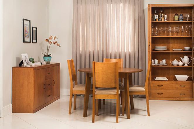 Sala de jantar r stica for Sala rustica moderna