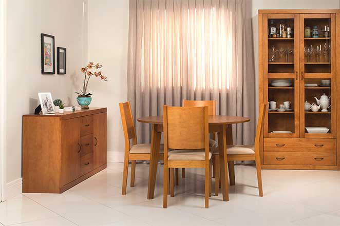 Sala de jantar r stica - Armarios para sala de estar ...