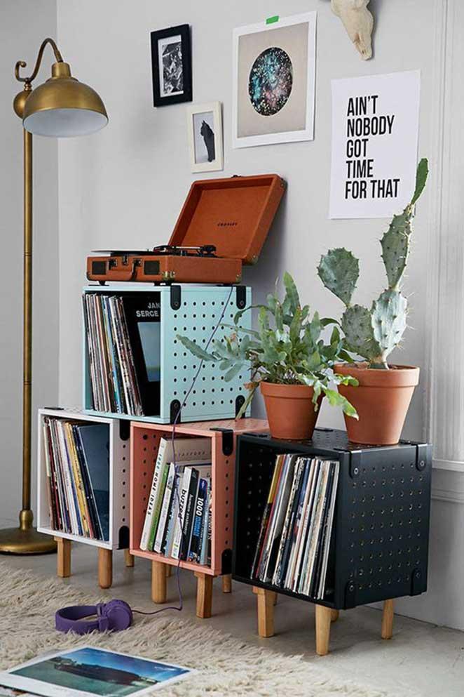 como organizar discos de vinil