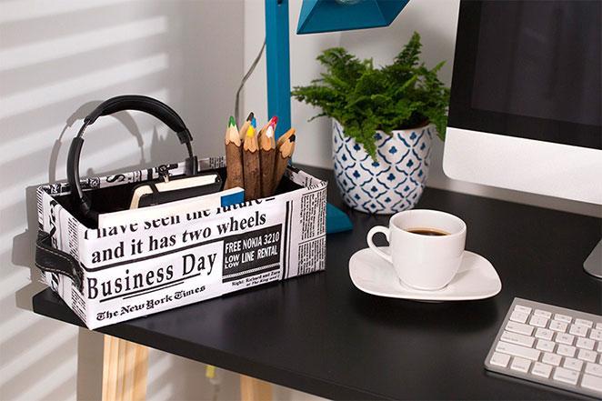 escritorio moderno decorado