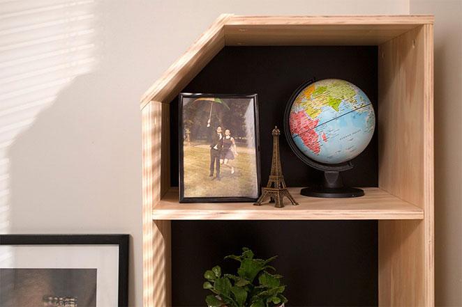 estante para escritorio moderno