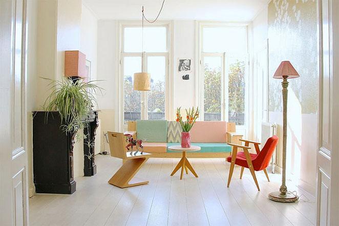 plantas-em-apartamento-com-animais-clorofito-sala