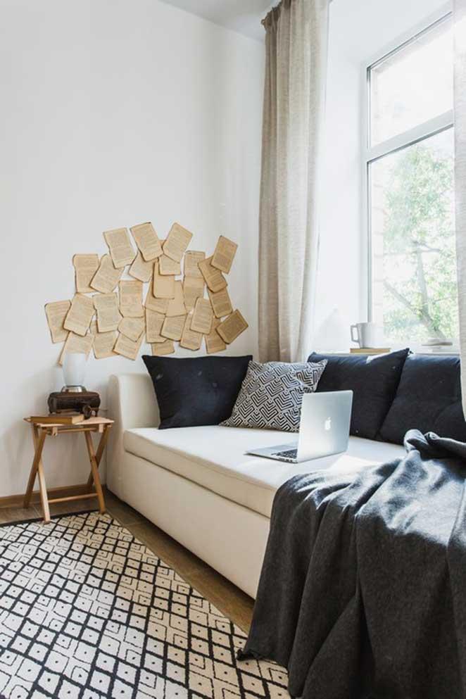apartamento pequeno quarto pequeno