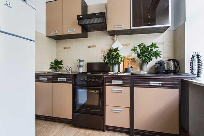 apartamento pequeno cozinha pequena