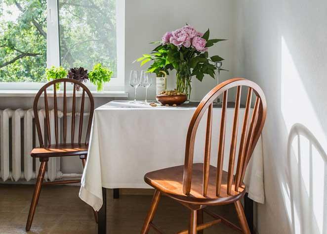 Como decorar um apartamento pequeno for Mesas para apartamentos pequenos