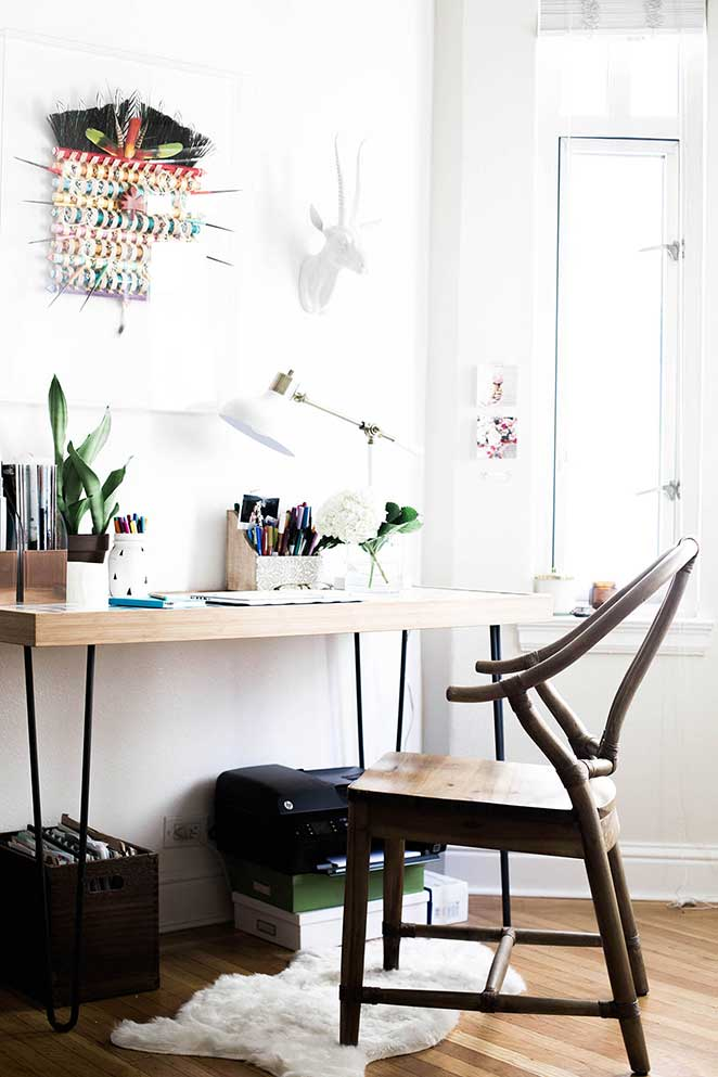decoracao-simples-para-quitinete-escritorio
