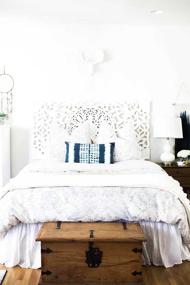 decoracao-simples-para-quitinete-quarto