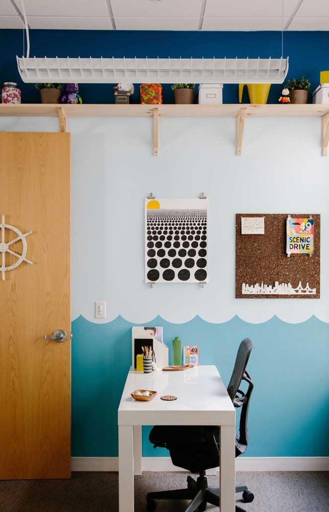escritorio pequeno