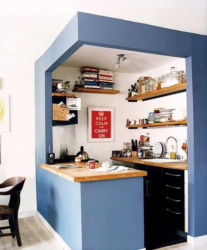 pinturas diferentes para paredes da cozinha