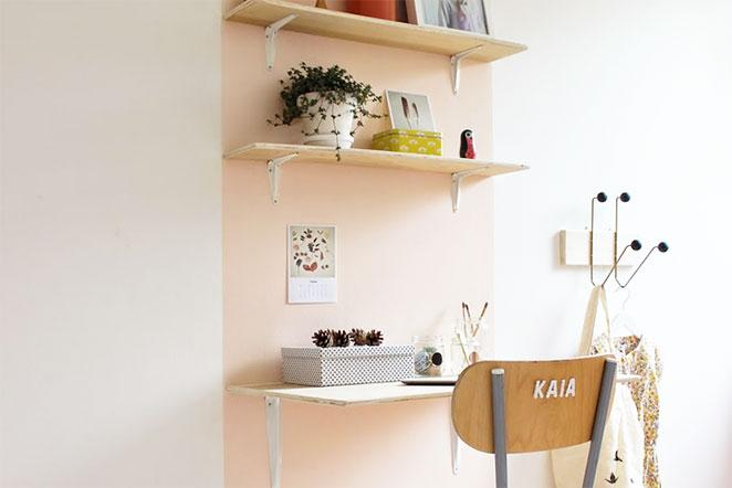 pinturas diferentes para paredes do home office
