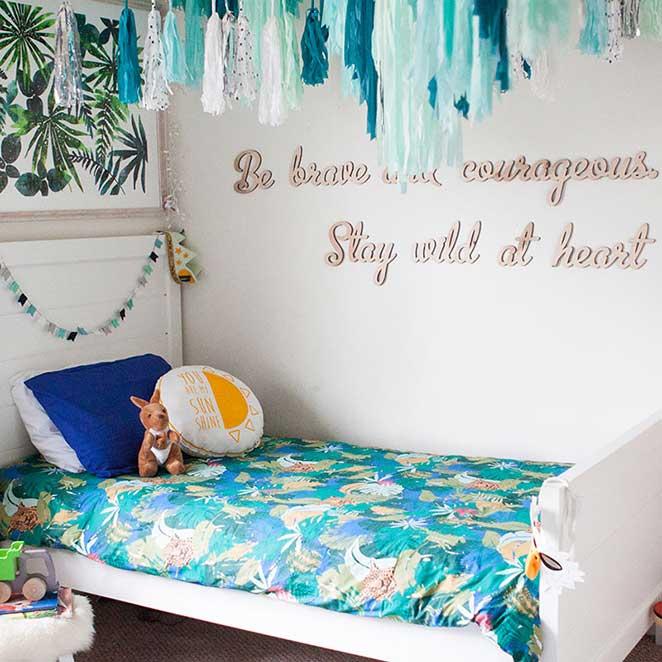 decoracao confortavel