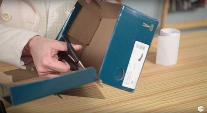 Como Fazer Um Organizador Reaproveitando Uma Caixa De Sapato