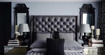 decoracao-cinza-e-vermelho-quarto